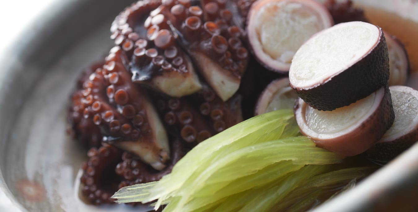 飯蛸とふき