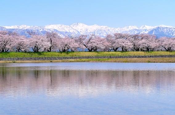 富山の山々